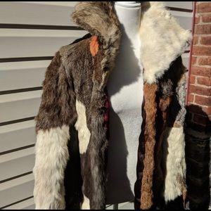 Vintage Rabbit Fur